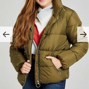 Olive green Puffer